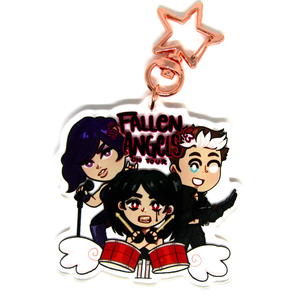 Fallen Angels | Clear Acrylic Charm