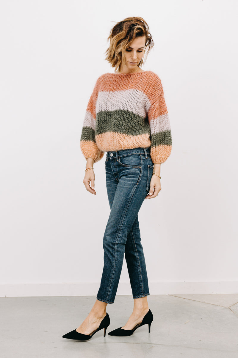 MOUSSY PLAINFIELD TAPERED JEAN