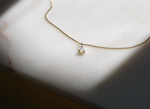 DREAM NECKLACE in 14K GOLD + OPAL