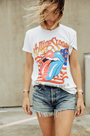 ROLLING STONES STEEL WHEELS TOUR TEE