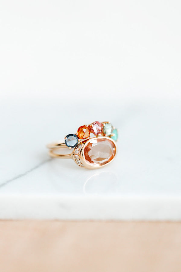 ALICE RING WITH MORGANITE