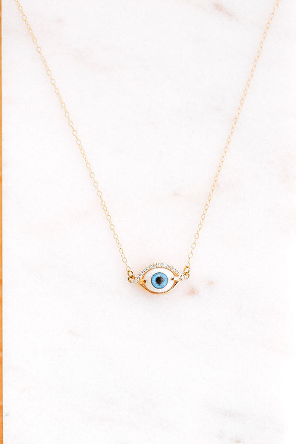 LACRIMA EVIL EYE NECKLACE
