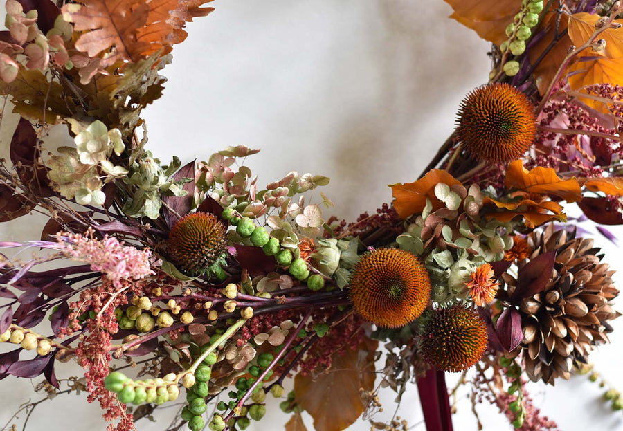 Autumnal Wreath Workshop - Wednesday 14th October