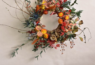 Full Dried Wreath Making class - 7th of December