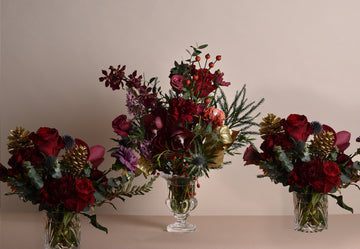 Christmas Dinner Party Vases - 13th of November