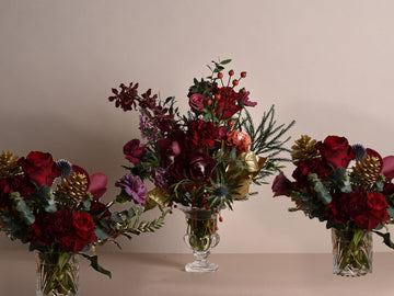 Christmas Dinner Party Vases - 18th December