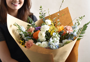 Hand Tie Bouquet Workshop - Wednesday 28th October - LAST SPACE LEFT!