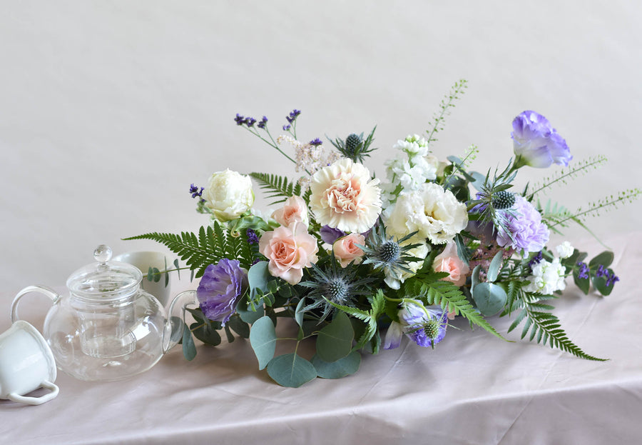Small Low Flower Centrepiece
