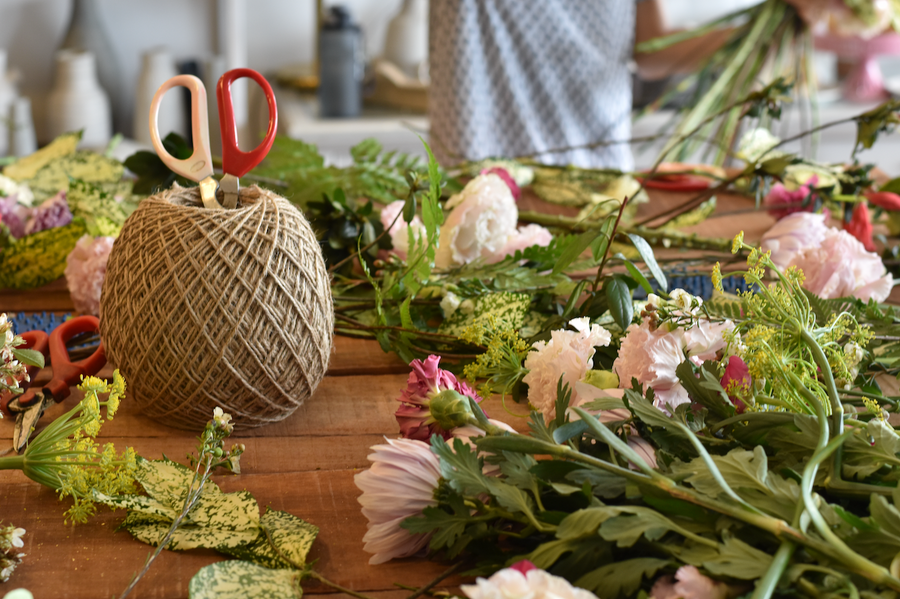 Hand Tie Bouquet Workshop - Wednesday 19th August