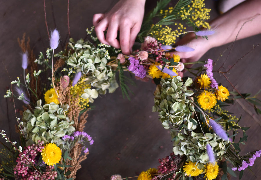 Easter Wreath Workshop - 8th April