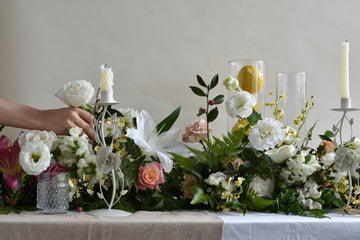 Elegant Table Garland - 22nd April