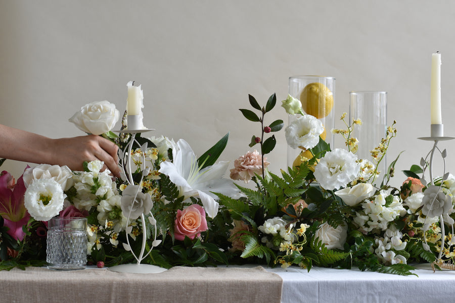Elegant Table Garland - 25th March