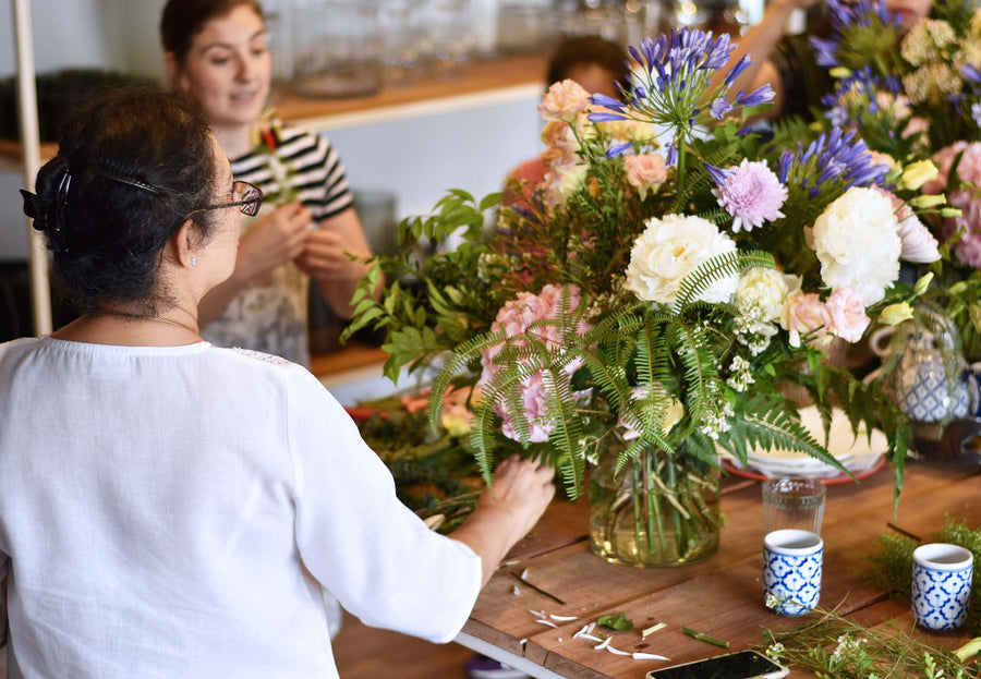 Spring Vase Workshop