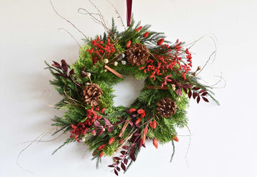 Christmas Wreath Workshop - Wednesday 11th November