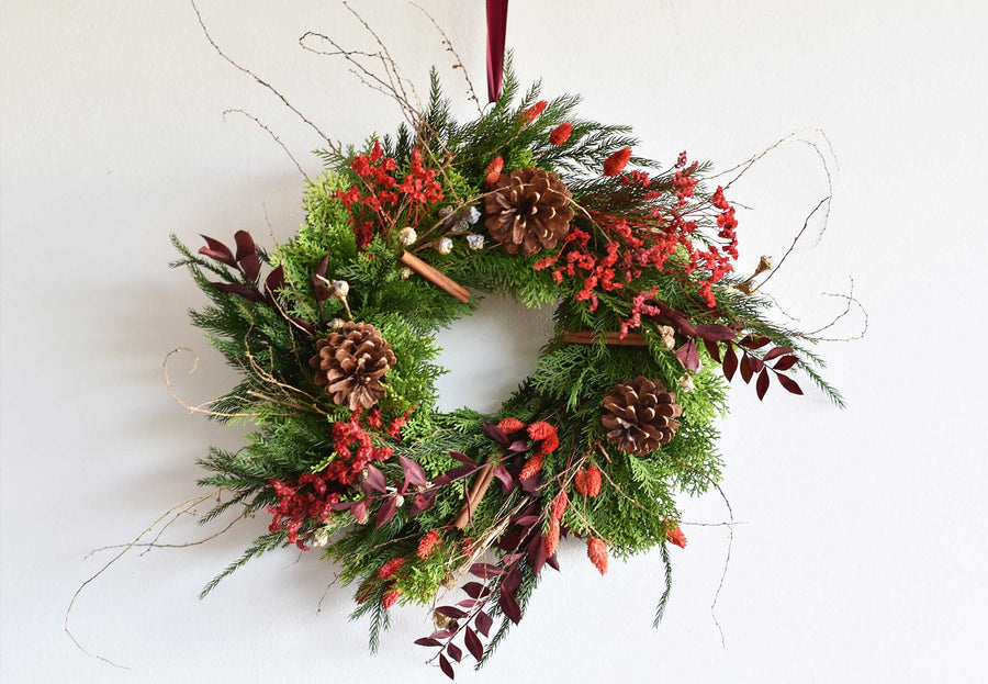 Christmas Wreath Workshop - Saturday 21st November - SOLD OUT!
