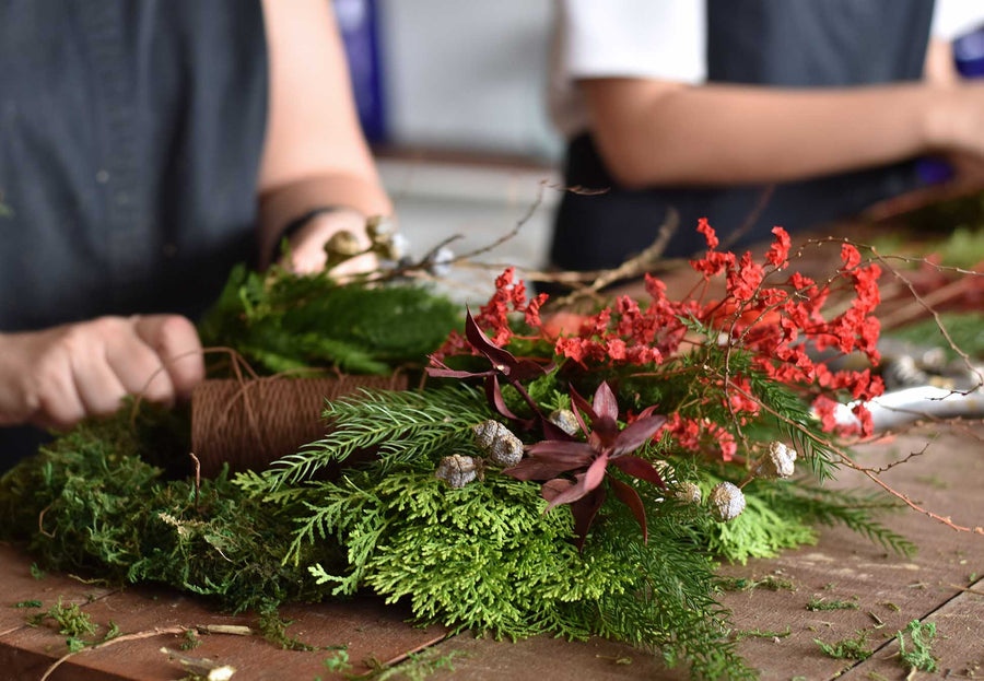 Christmas Wreath Workshop - Wednesday 9th December
