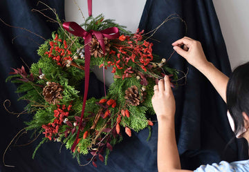 Christmas Wreath Workshop - Saturday 5th December