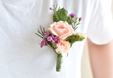 Buttonholes and Wrist Corsages