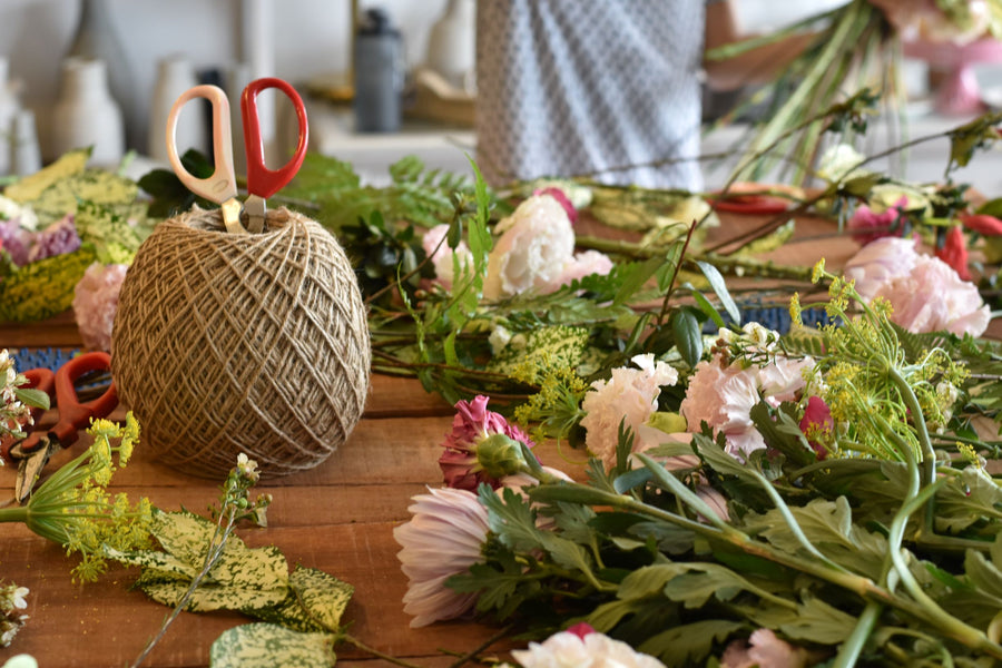 Hand Tie Bouquet Workshop - Wednesday 6th January