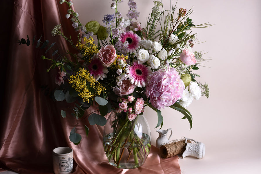 Flowers in James Vase - Wednesday 29th July