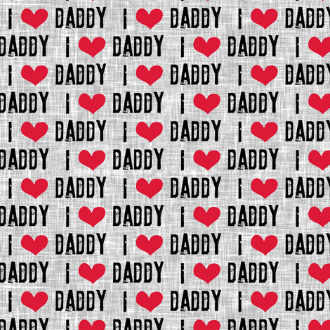 Pre-Order: I LOVE DADDY - Father's Day Bandana
