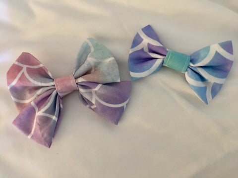 Mermaid Bow Tie or Bow