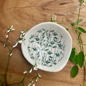 Green Leaves Bowl