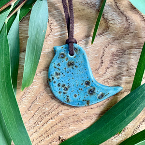 Small Bird Pendant Necklaces