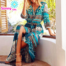 Robe Bohemienne girl