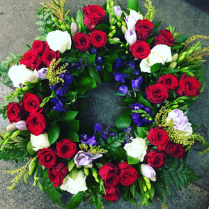 Funeral or Remembrance Wreath