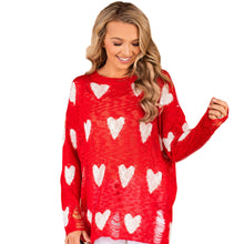 Load image into Gallery viewer, Be My Valentine Sweater