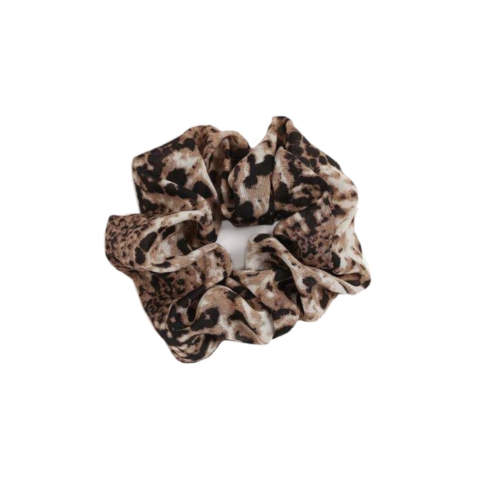 Brown Snakeprint Scrunchie