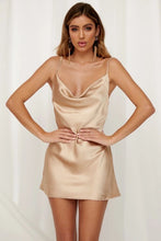 Load image into Gallery viewer, Laura Dress / Champagne