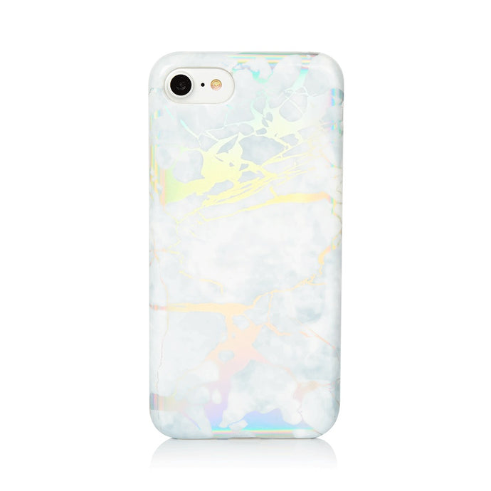Marble holographic case