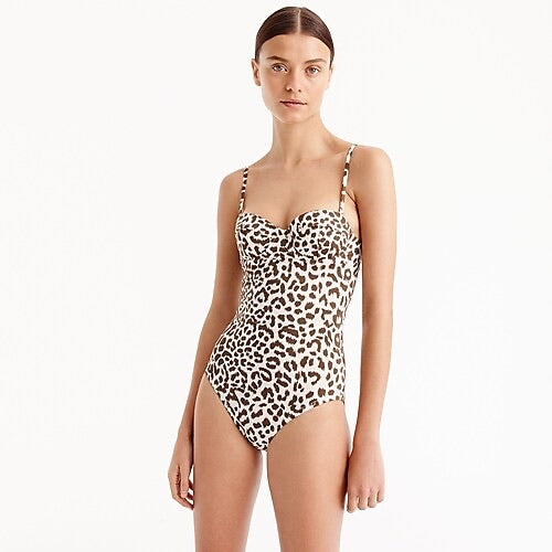 On The Wild Side One Piece Bathing Suit