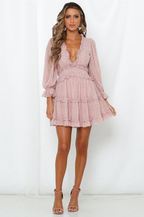 Stella Dress / Blush