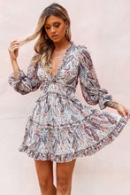 Load image into Gallery viewer, Dream Girl Paisley Dress / Navy