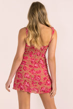 Load image into Gallery viewer, Carly Floral Mini Dress