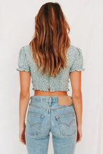 Load image into Gallery viewer, Caroline Tie Front Crop Top