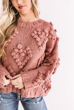 Load image into Gallery viewer, Bunches Of Luv Sweater Pink