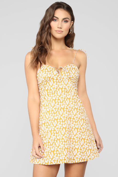 Walking On Sunshine Mini Dress