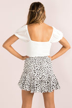 Load image into Gallery viewer, Layered Frill Skirt / Leopard