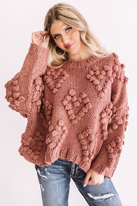 Bunches Of Luv Sweater Pink