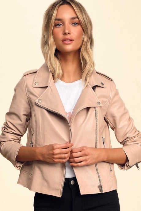 Easy Rider Jacket / Blush