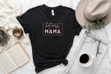 Load image into Gallery viewer, HOT MESS MAMA- BLACK TSHIRT