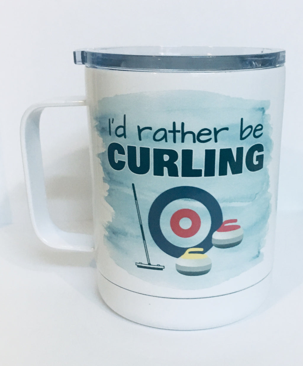 ID RATHER BE CURLING