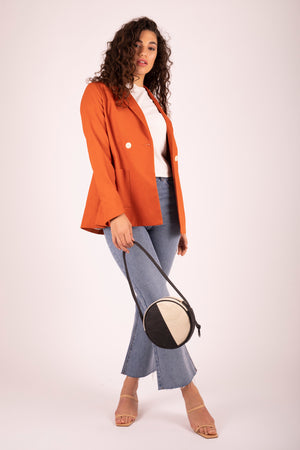 Kaia Blazer Sweet Potato 6