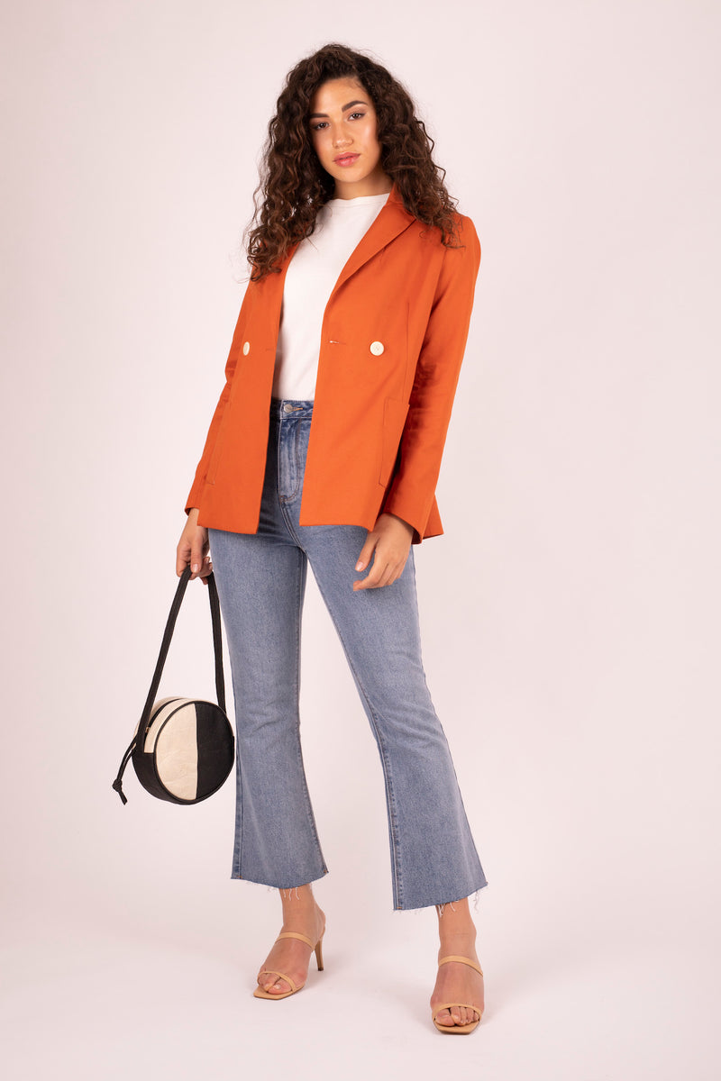 Kaia Blazer Sweet Potato 3