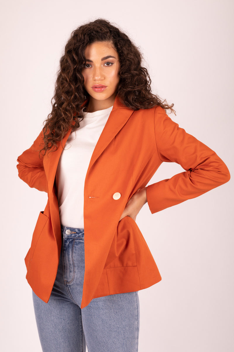 Kaia Blazer Sweet Potato 5