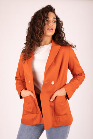 Kaia Blazer Sweet Potato 7